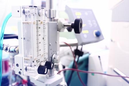 industria quimica: equipo de gas en el hospital