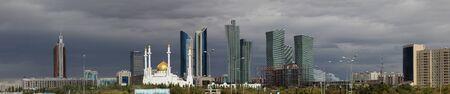 astana: Panorama of Astana.