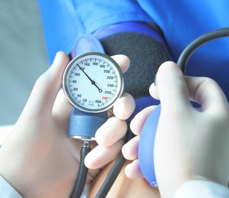 manometer: blood pressure