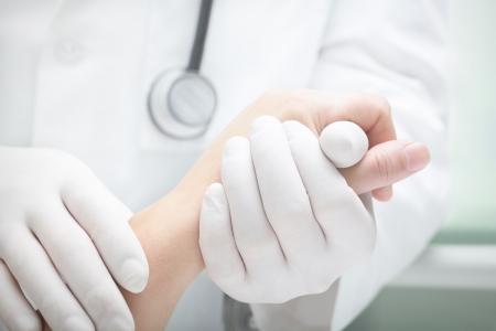 Cura del paziente incurabile. Archivio Fotografico