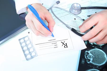 Doctors prescription photo