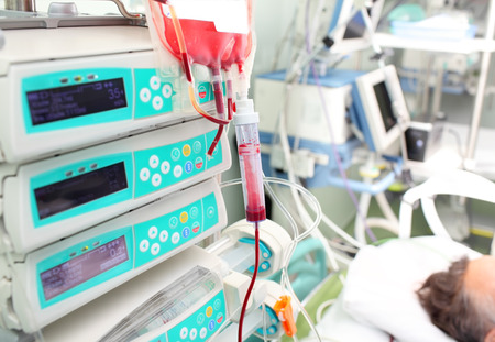 袋血在ICU