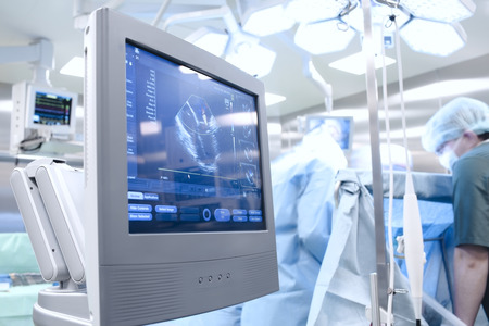 Echoscopisch onderzoek in de operatiekamer