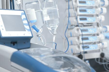 La infusión intravenosa de la quimioterapia