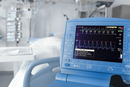 monitor: ICU room and cardiovascular monitor