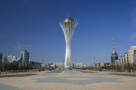 astana: View of the central square of Astana