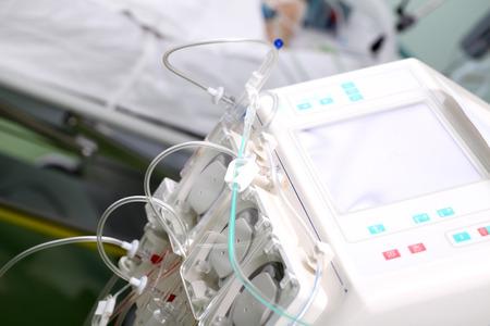 preasure: Hemodialysis machine in the ward