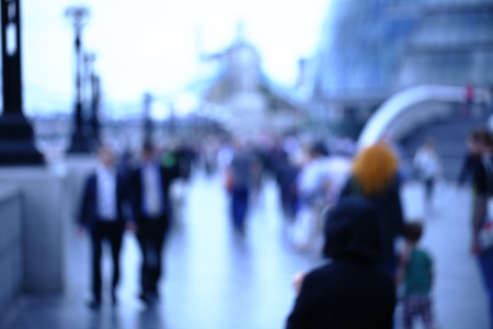 life partner: Movement of people in the big city. Abstract photo for background
