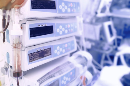 Medical devices for advanced chemotherapy Stockfoto