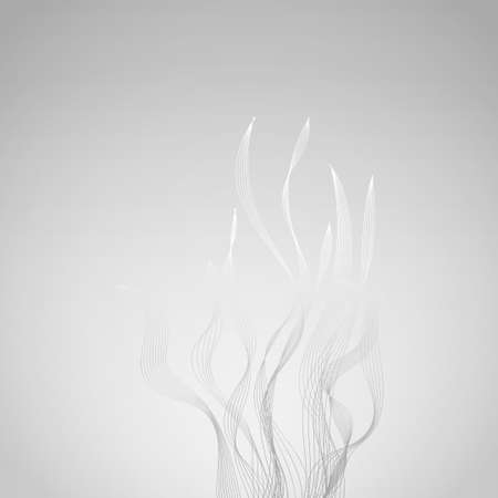 flames background: Smoke or abstract flames vector background
