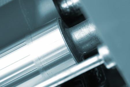 Metal shaft of the printing press