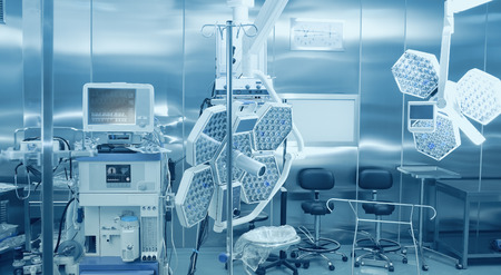 Equipment and technologies for the surgical treatment of the patient and conducting anesthesia 版權商用圖片 - 39913085