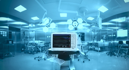 Innovative technology in a modern hospital operating room Фото со стока - 40119154