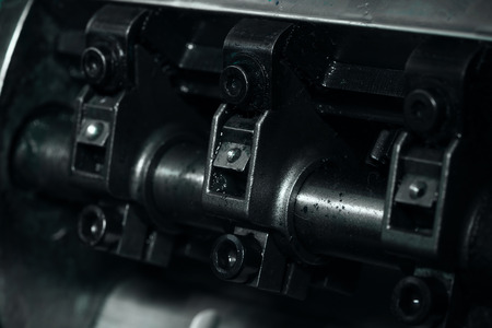 cigue: Detail crankshaft as a part of the mechanism