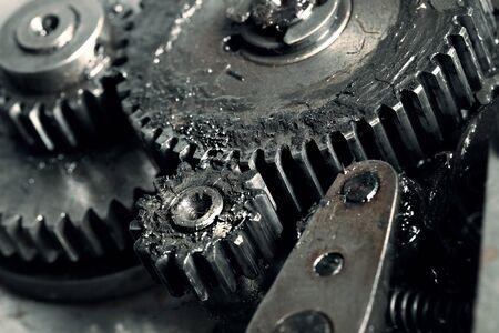 lubrication: Lubricated gears of vehicular transmission macro