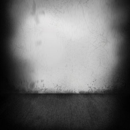 abstract grunge: Grunge wall and floor abstract background Stock Photo