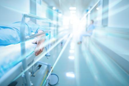 在醫院的走廊患者死亡 版權商用圖片 - 42068852