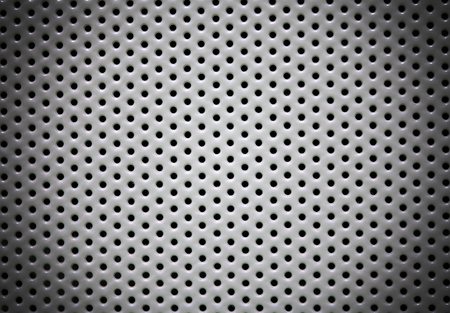perforated metal: Perforated metal background for your use Stock Photo