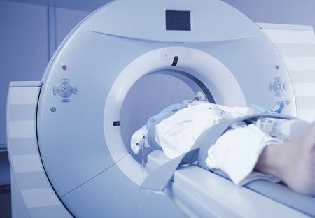 患者篩查的CT掃描儀 版權商用圖片 - 43274994