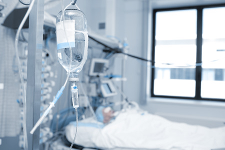 Treatment of a patient in critical condition in the ICU ward