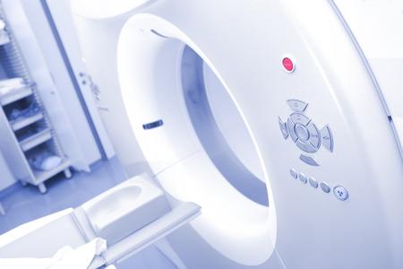 CT機器為患者拍攝做準備