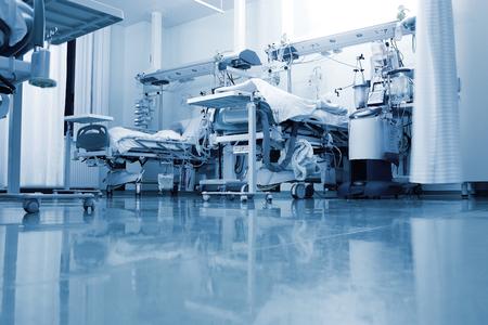 Vista típica de la sala en una clínica moderna