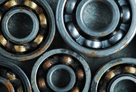 industrial design: Several bearings for industrial design Stock Photo