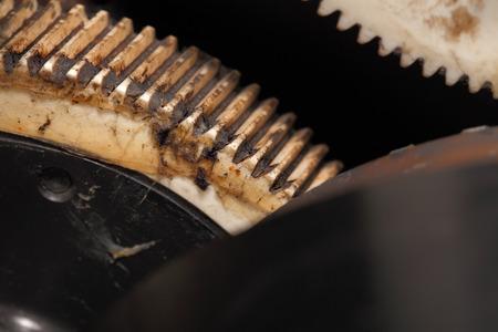 processing speed: Plastic gear. Macro