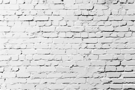 cracked wall: Brick wall with features background