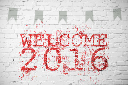 untidy text: New year backgroung for your use Illustration