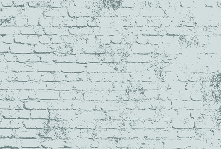 surface: Brick wall with grunge surface Illustration