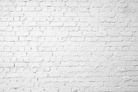 ladrillo: Loft estilo pared de ladrillo blanco. Foto de archivo