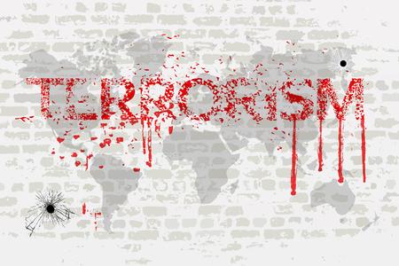 Het terrorisme in de wereld
