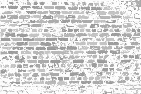 brick work: Wall of gray silicate old brick as a blank background for your design, text, new ideas