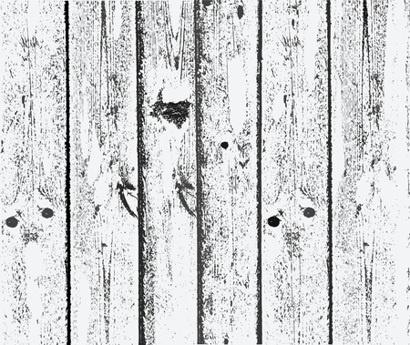 planks: wooden planks in a simple Illustration