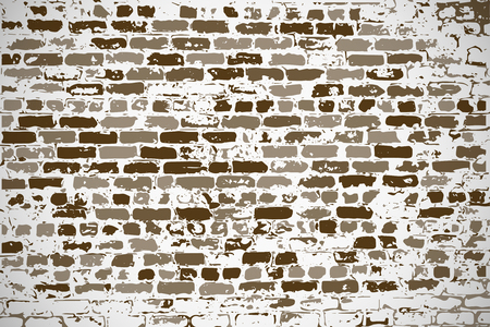 new ideas: Wall of silicate old brick as a blank background for your design, text, new ideas