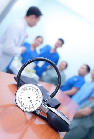 medical doctors: Morning briefing of medical doctors