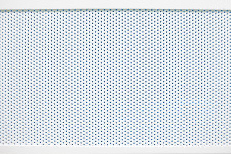 hindrance: White cellular textured grid background. Stock Photo