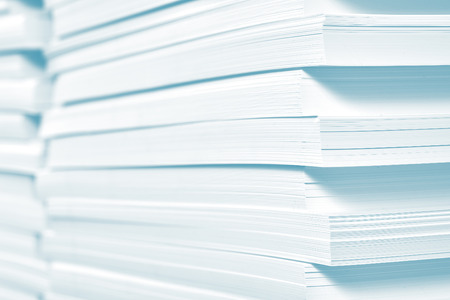 imprenta: Reserva de papel en la imprenta.