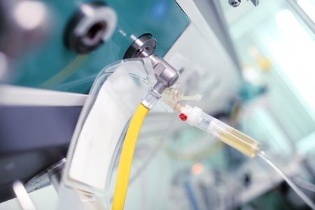 icu: Perspective in the intensive care unit (ICU). Stock Photo