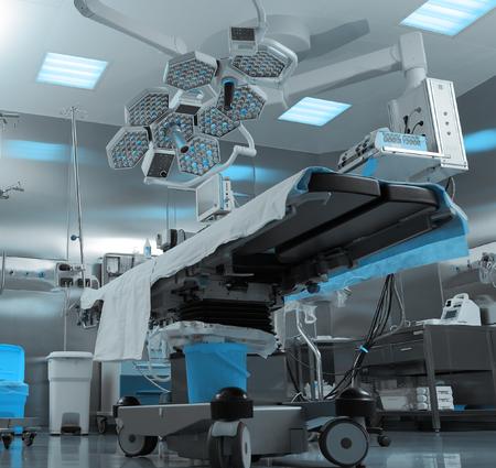 病院での現代の手術室