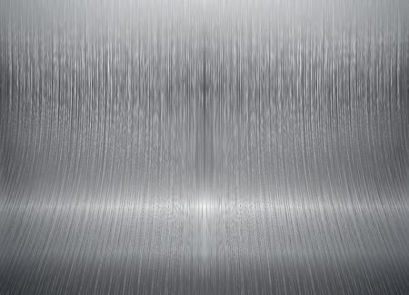 turning page: Bent metal background Illustration