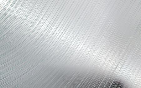 communications technology: Bent metal mirror surface Illustration