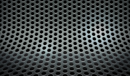 speaker grille pattern: Abstract perforated mesh background
