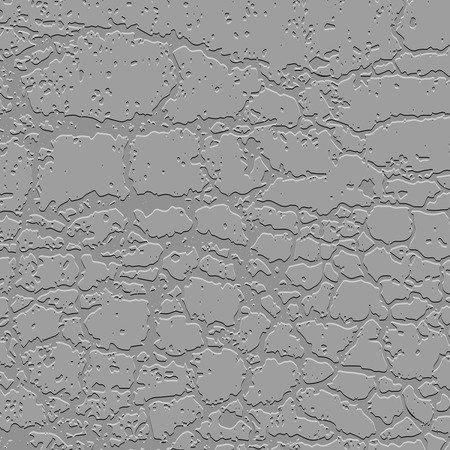 flooring: Relief fragment of concrete wall. Vector background