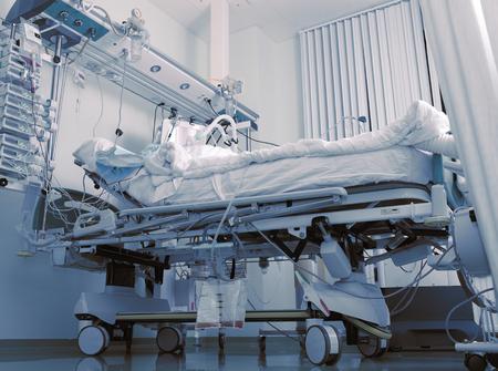 nursing unit: Comatose patient in intensive care