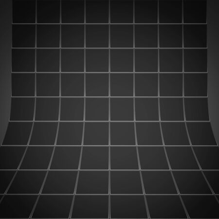 black textured background: Abstract black squares textured background Stock Photo