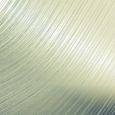 metal surface: Bent metal mirror surface background.