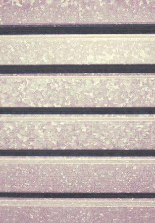 Metallic profile sheet, industrial background.