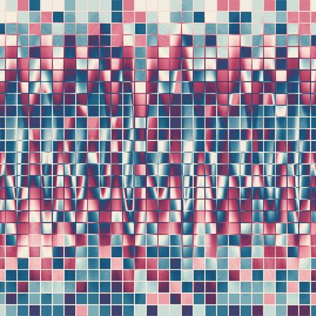 basis: Soft water abstract background with blue squares basis